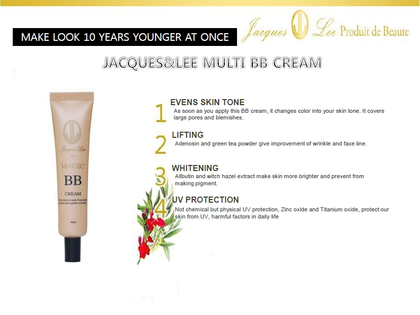 AMICELL JAQUES&LEE MULTI BB CREAM